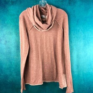 FREE PEOPLE BEACH COCOON COWL NECK PULLOVER AG043